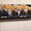 Uramaki spicy tuna fried